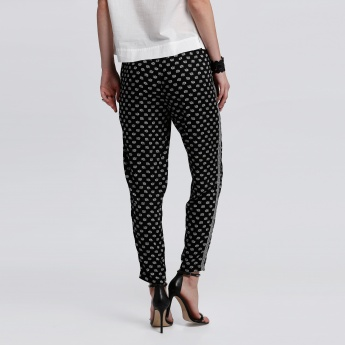 Bossini Printed Pants with Elasticised Waistband