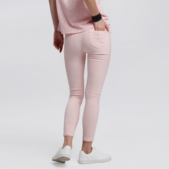 Bossini Full Length Pants with Elasticised Waistband