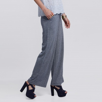 Bossini Full Length Palazzo Pants with Elasticised Waistband