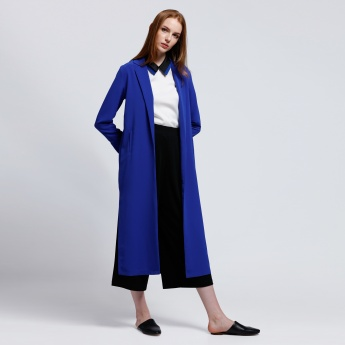 Longline Jacket with Open Front