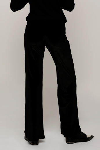 ab00445f649853 Full Length Fit and Flare Pants | Black