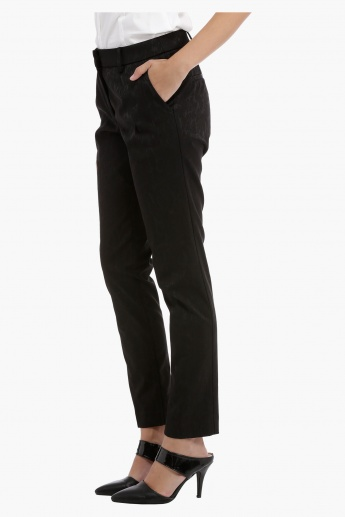 Elle Slim Leg Pants with Pockets