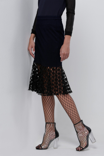 Elle Skirt with Lace Detail