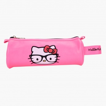 Hello Kitty Print Pencil Pouch
