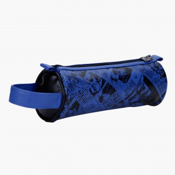 Superman Print Pencil Pouch