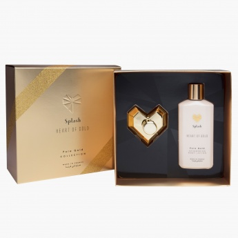 Heart of Gold Pure Gold Eau De Perfume and Body Lotion Gift Set