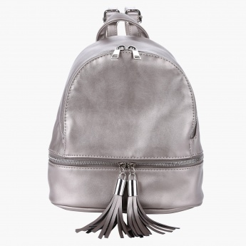 Backpack with Tassels