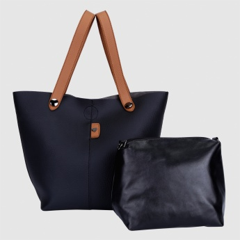 Tote Bag with Magnetic Snap Closure