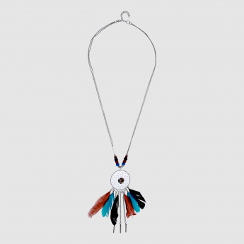 Dreamcatcher Pendant Necklace with Lobster Clasp