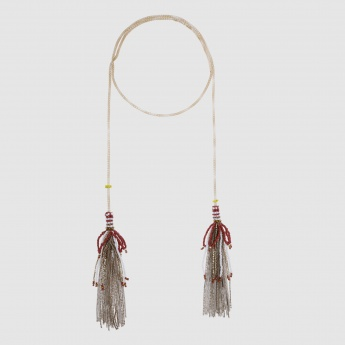 Open Ended Tassel Necklace