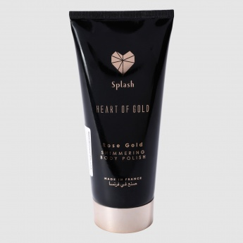 Heart of Gold Rose Gold Shimmering Body Polish