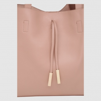 Tote Bag with Snap Closure