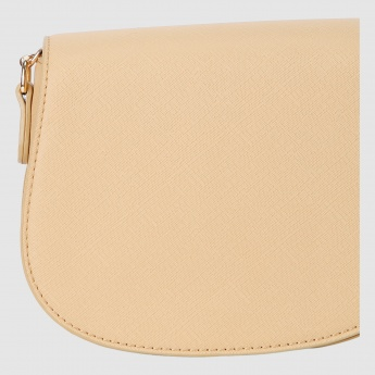 Crossbody Bag with Snap Closure