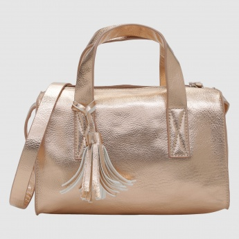 Iconic Handbag with Zip Closure
