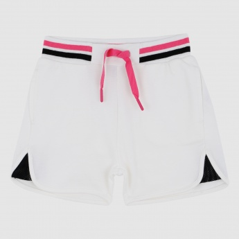 Iconic Shorts with Elasticised Waistband and Drawstring