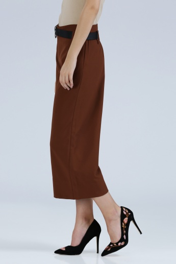 Iconic Culottes with Zippered Closure