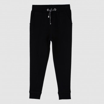 Iconic Full Length Jog Pants with Drawstrings