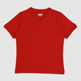 Iconic Round Neck T-Shirt with Short Sleeves
