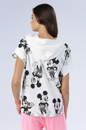 Iconic Printed T-Shirt with Hood