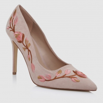 Iconic Embroidered Stilletos