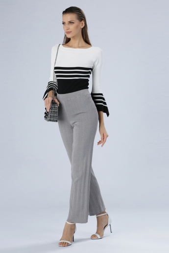 Iconic Textured Full Length Pants