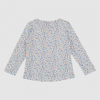 Iconic Printed Long Sleeves Top