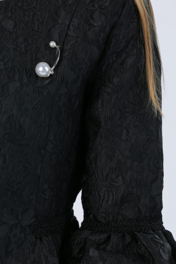 Iconic Embellished Jacket with Bell Sleeves