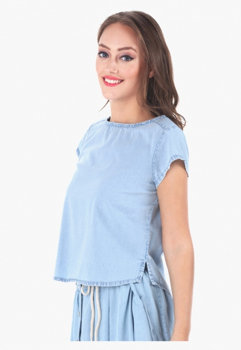 Lee Cooper Denim Top
