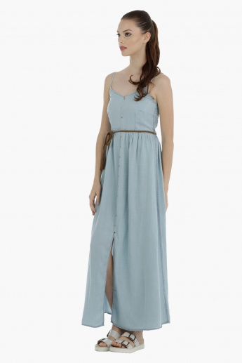 Lee Cooper Maxi Dress with Slit