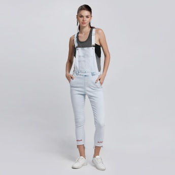 Lee Cooper Full Length Dungaree with Suspenders