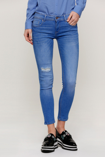 a589d2a5 Lee Cooper Full Length Push-Up Jeans in Skinny Fit | Blue