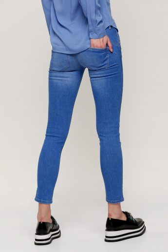 66f078f3 Lee Cooper Full Length Push-Up Jeans in Skinny Fit | Blue