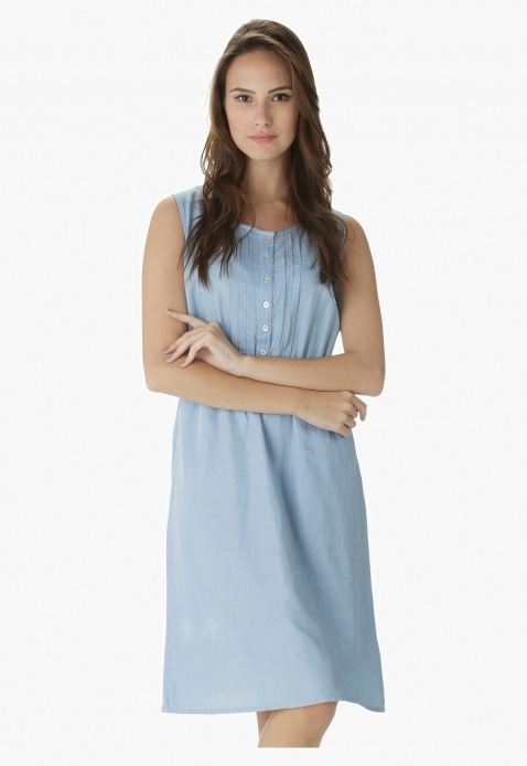 Sleeveless Top Dress