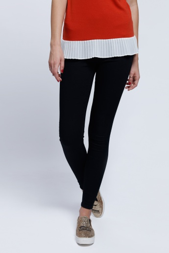 Full Length Jeggings with Pocket Detailing