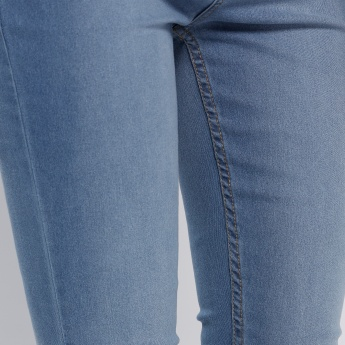 Faded Full Length Jeans in Skinny Fit