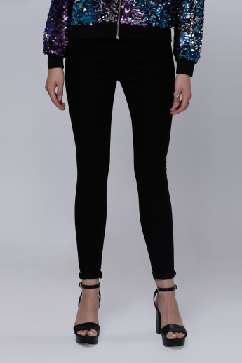 Full Length Leggings with Pocket Detail