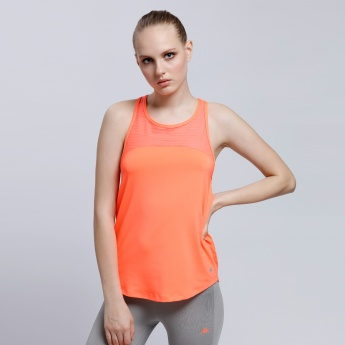 Sleevless Top with Racer Back