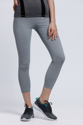 Kappa 3/4 Length Leggings with Elasticised Waistband
