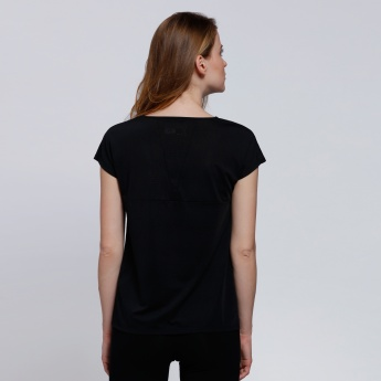 Kappa Short Sleeves Round Neck T-Shirt