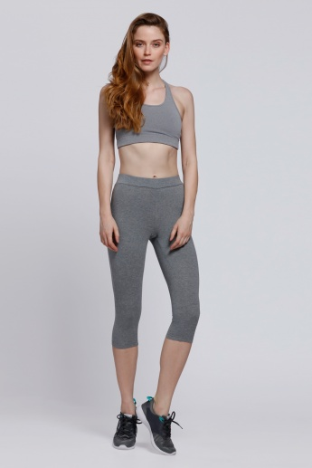 Kappa 3/4 Length Pants with Elasticised Waistband