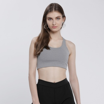 Kappa Sleeveless Sports Bra with Racerback
