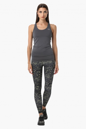 Printed Leggings in Regular Fit