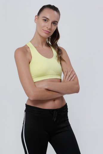 Seamless Bra Top with Racerback