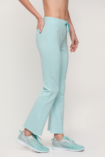 Full Length Pants with Drawstring Closure