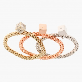 Embellished Bangles - Set of 3
