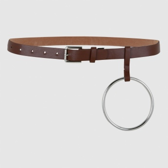 Fashionable Belt with Pin Buckle Closure
