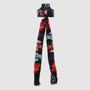 Printed Skinny Stole
