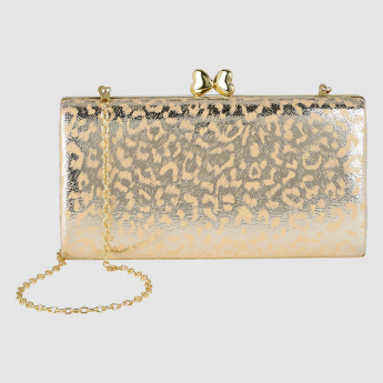 Printed Clutch with Sling