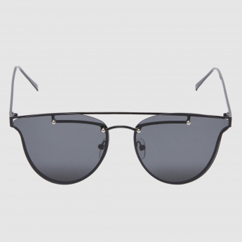 Metallic Frame Sunglasses
