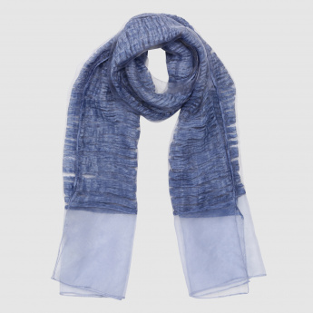 Rectangular Textured Scarf